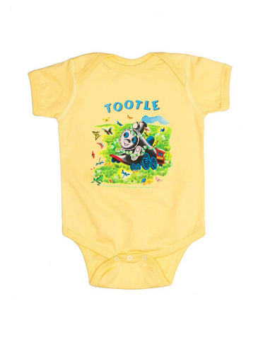 Out Of Print Onesie Tootle Yellow