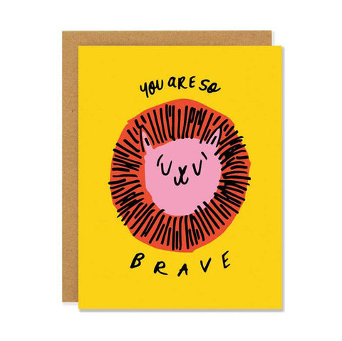 Badger & Burke Card - You are So Brave