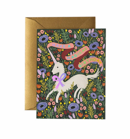 Rifle Paper Company Card - Have a Magical Birthday Unicorn