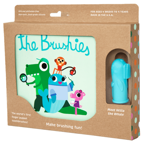 The Brushies Book and Brush Set