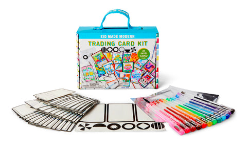 Kid Made Modern Trading Card Crafting Kit