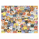 Crocodile Creek Puzzle Lots Of Cats 500 Pieces