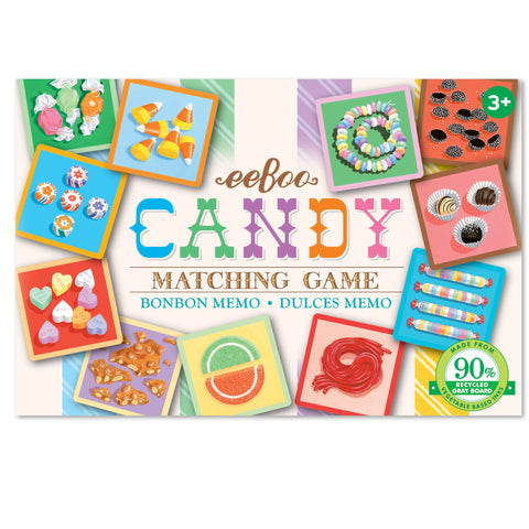 Eeboo Matching Game Candy