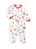 Noomie Footie Holiday Treats Print