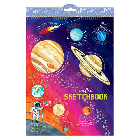 Eeboo Large Sketchbook Solar System
