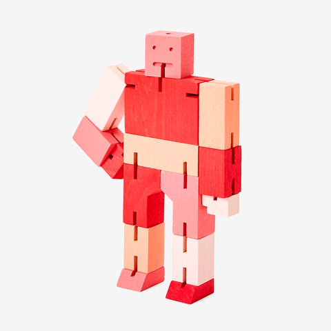 Cubebot Areaware Red Multi Micro Small