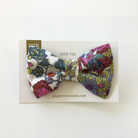 Peppercorn Kids Bow Tie Multi Floral