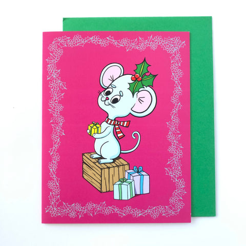 Beautiful Days Holiday Card - Sweet Lil Mouse