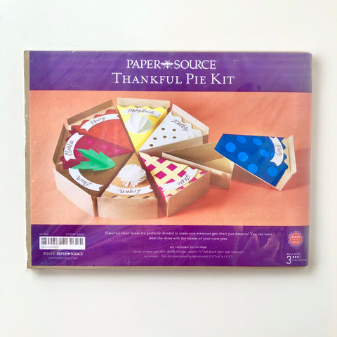 Paper Source Thankful Pie Kit