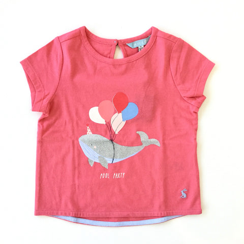 Joules Shirt Pool Party Whale Tee