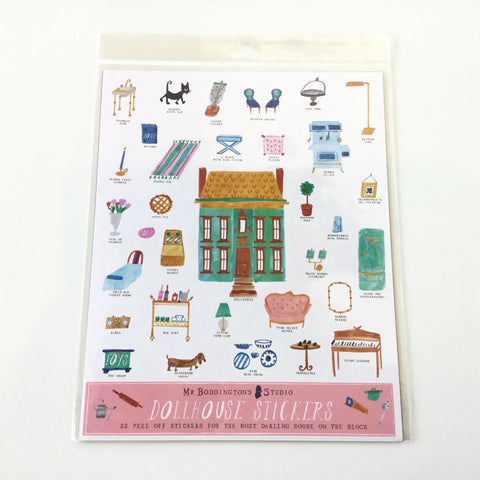 Mr Boddington Sticker Sheet Dollhouse