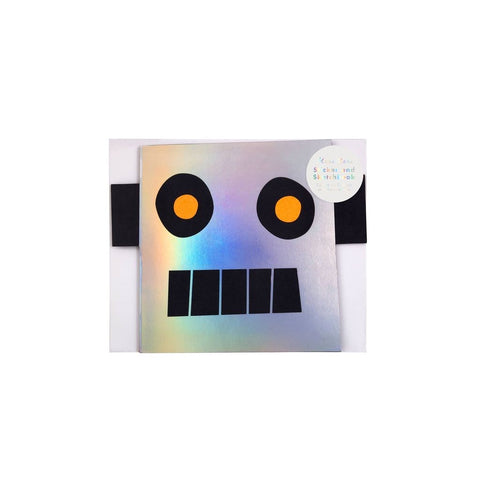 Meri Meri Sticker And Sketch Book Robot
