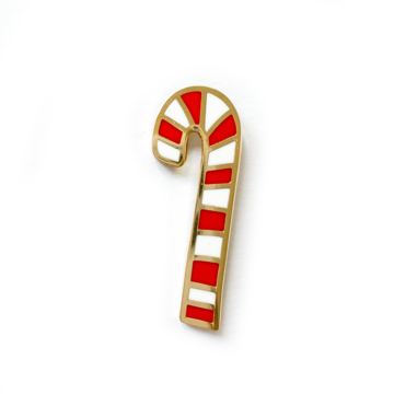 Penny Paper Co Enamel Pin - Candy Cane