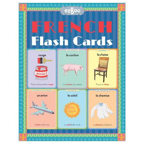 Eeboo Flash Cards French