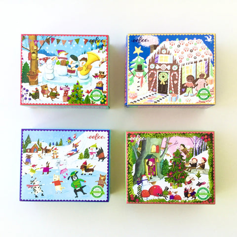eeboo Holiday Mini Puzzle