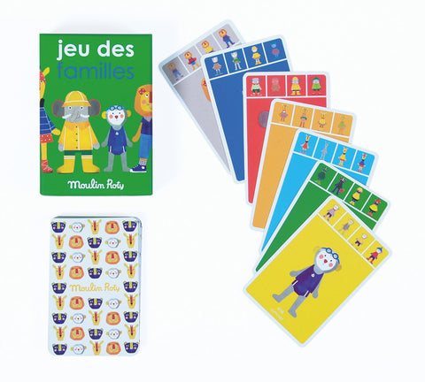 Moulin Roty Jeu Des Familles Game in Green Box