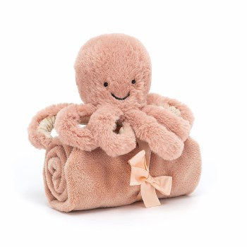 Jellycat Odell Octopus Soother Lovey