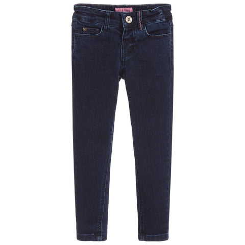 Joules Jeans Dark Denim Pink Stitching