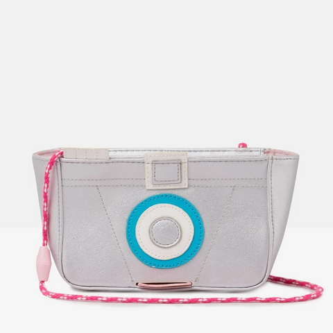 Joules Purse Camera Silver
