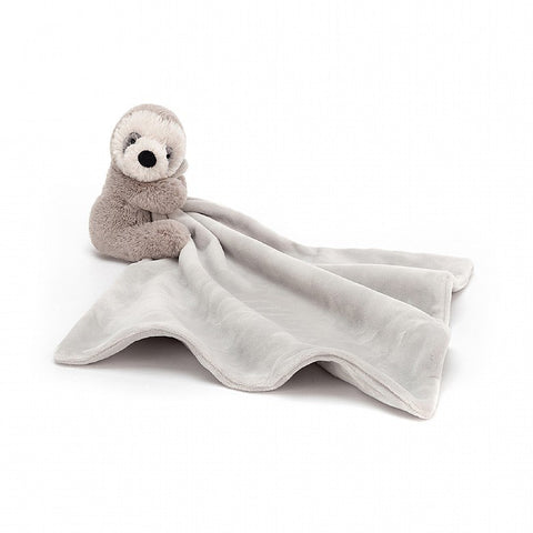 Jellycat Shooshu Sloth Soother Lovey
