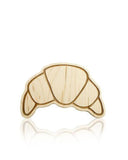 Lexy Pexy Wooden Teether Croissant