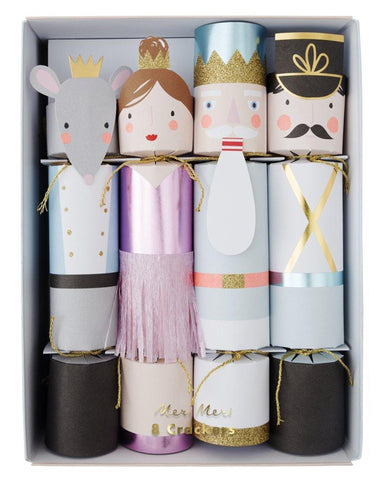 Meri Meri Nutcracker Set of 8 Christmas Crackers