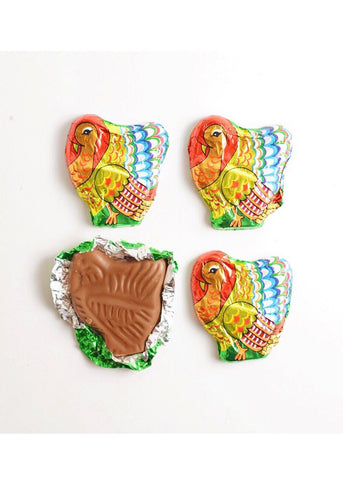 Madelaine Mini Milk Chocolate Turkeys