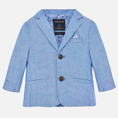 Mayoral Chambray Dressy Jacket