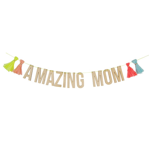 MeriMeri Amazing Mom Garland
