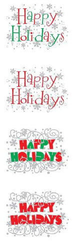Mrs. Grossman Happy Holiday Sticker