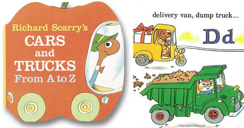 Richard Scarry's Cars and Trucks Mini Board Book