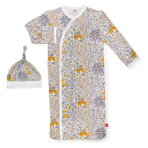 Magnetic Me Sack Gown and Hat Set Sumatra