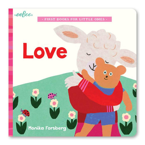 Eeboo Love Board Book