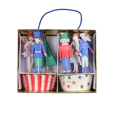 MeriMeri The Nutcracker cupcake Kit