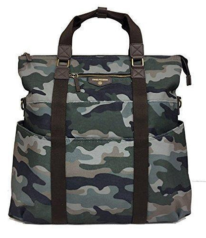 Twelve Little Unisex 3-in-1 Foldover Tote Camo