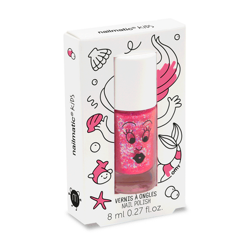 Nailmatic Nail Polish Sissi Dark Pink Mermaid