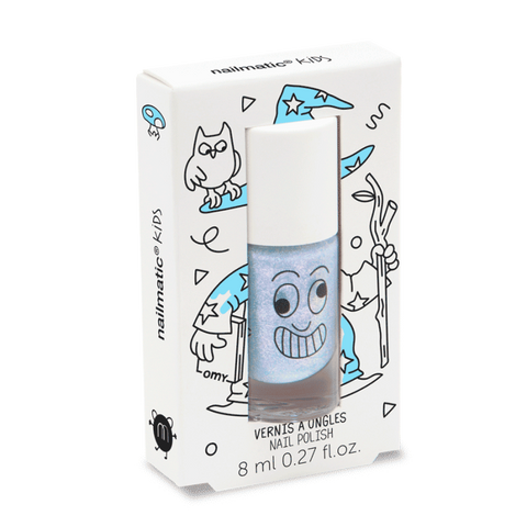 Nailmatic Nail Polish Merlin Light Blue Wizard