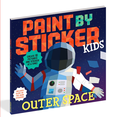 Paint by Sticker Outer Space