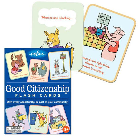 Eeboo Good Citizenship Conversation Cards