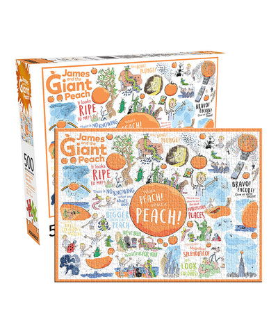 Aquarius Puzzle 500 Piece James And The Giant Peach