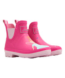 Joules Rain Boots Pink Fairy