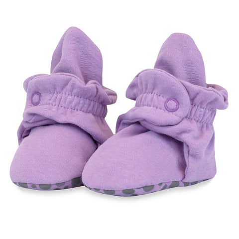 Zutano Booties Lilac Purple Organic Cotton