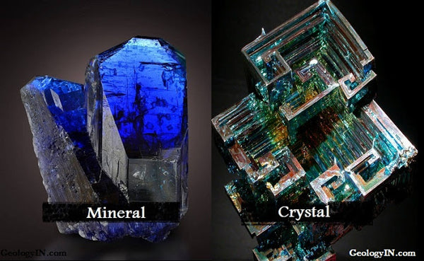 Minerals vs. Crystals - What's the difference?