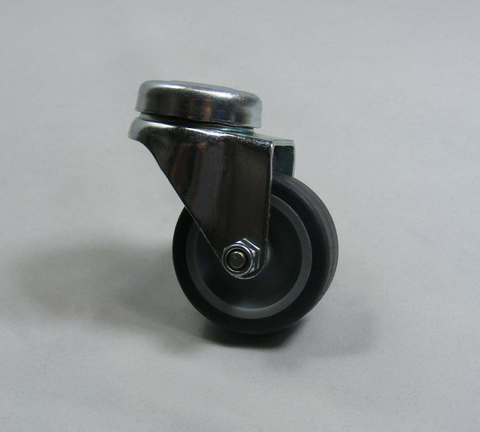 Numatic 204018 50mm caster with grey rubber tyre