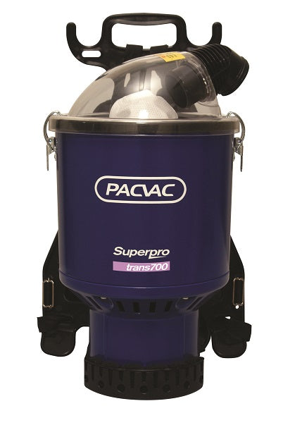Pacvac Superpro 700 Trans BackPack 110v 400hz Vacuum Aircraft Specification