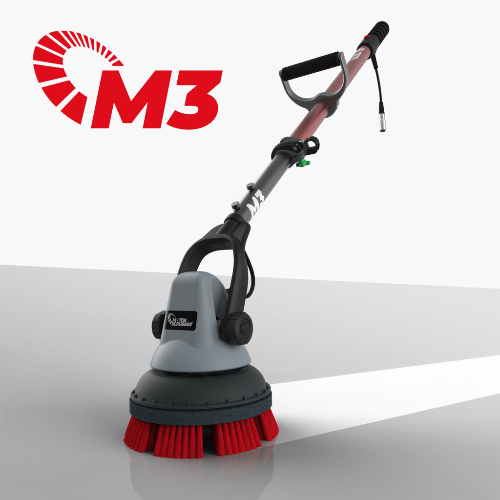 "MotorScrubber M3 8"" Battery Scrubbing Cleaning Machine"