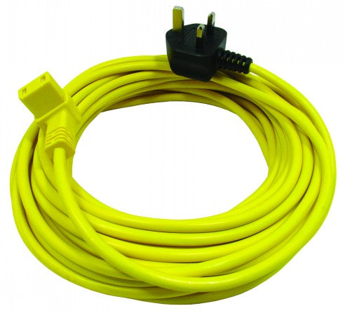Victor V9 12 Metre 2 Core Cable with Right Angled IEC Plug - FLX90