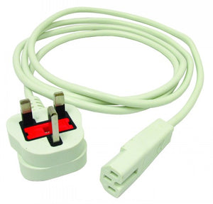 2 Metre 0.75mm Charging Lead with 10a IEC Plug - KS33-2