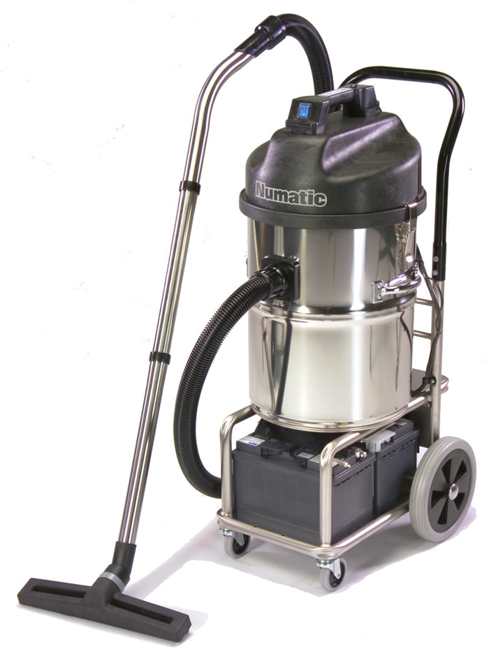 Numatic WVB750 & WVDB750 battery operated wet & dry vac