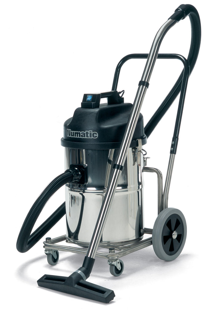 Numatic WV750 & WVD750 range - steel wet or dry commercial vacuum cleaner